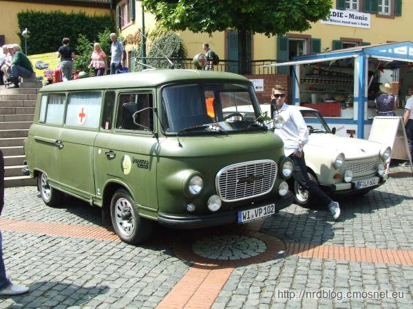 Barkas B1000 ambulans, NRD, 1961-1989