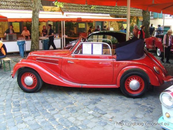 IFA F8 Export Kabriolet, NRD, 1953-1955
