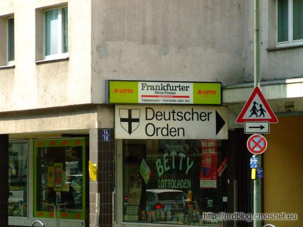 Tędy do Krzyżaków we Frankfurcie