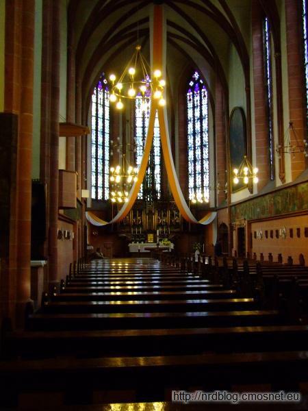 Kościół w klasztorze krzyżackim we Frankfurcie