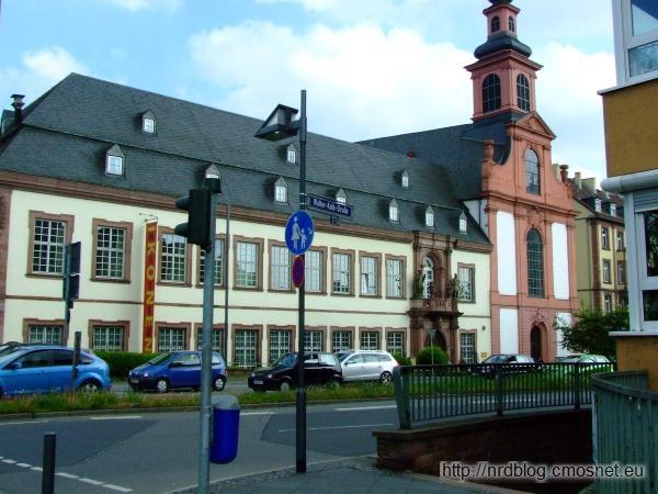 Budynki Zakonu Krzyżackiego we Frankfurcie