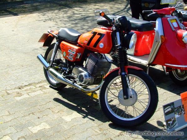 MZ ETZ 250, NRD 1981-1990, egzemplarz nieco przerobiony