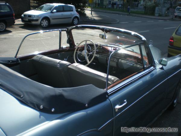 Mercedes 220S (W 180 II), 1956-1958