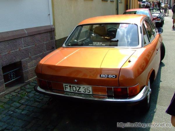 NSU Ro80, 1967-1977