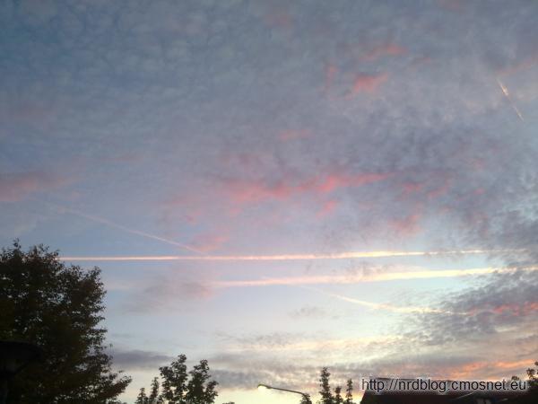 Niebo nad Frankfurtem