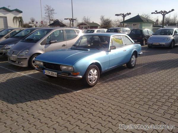 Peugeot 504 Coupe 1974-1979