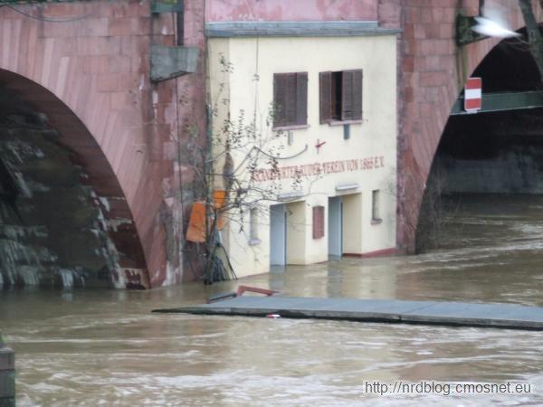 Powódź we Frankfurcie