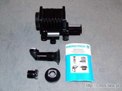 Akcesoria do aparatu Praktica BC-1 (NRD)