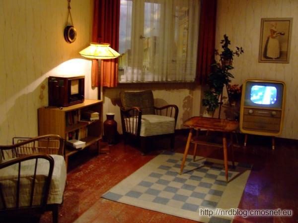 Muzeum The Story of Berlin - Mieszkanie powojenne wschód