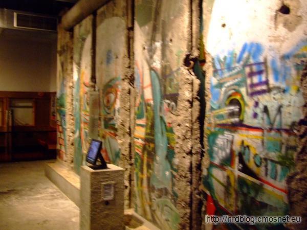 Muzeum The Story of Berlin - Fragment muru