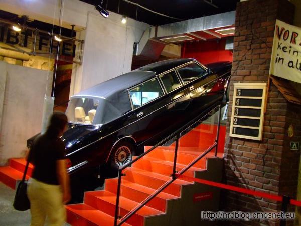 Muzeum The Story of Berlin - Volvo Honeckera