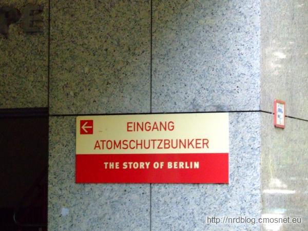 Muzeum The Story of Berlin - Wejście do schronu