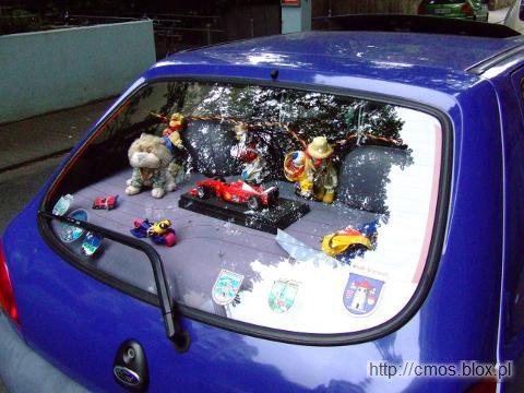 Wystawa w samochodzie