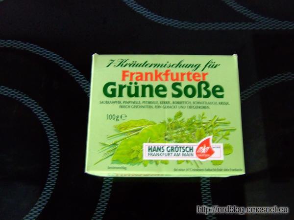 Frankfurcki Zielony Sos mrożony