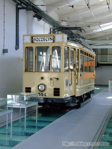 Przedwojenny szczeciński tramwaj