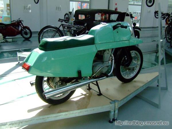 Prototyp motocykla SFM M14 Iskra