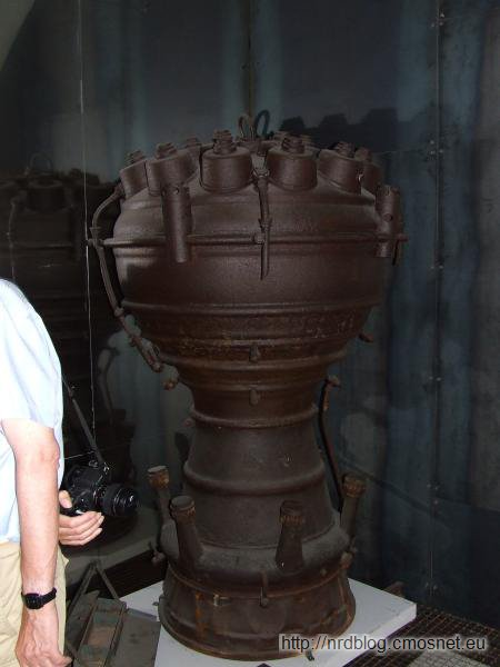 Peenemünde - silnik rakiety A4 (V2)