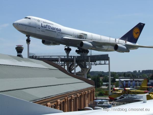 Technikmuseum Speyer - Boeing 747 Jumbo Jet