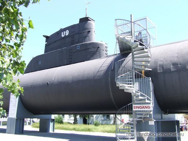 Technikmuseum Speyer - okręt podwodny typu 205
