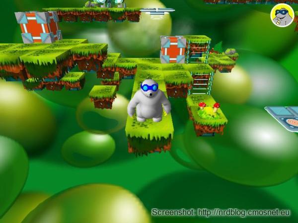"""Screenshot z gry """"Reksio i tajemnica trzeciego wymiaru"""""""
