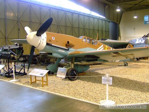 Militärhistorisches Museum Flugplatz Berlin-Gatow - Messerschmitt Bf 109