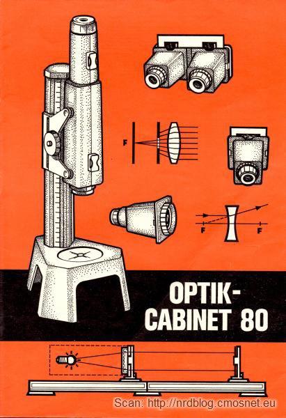 Optik-Cabinet 80 - instrukcja