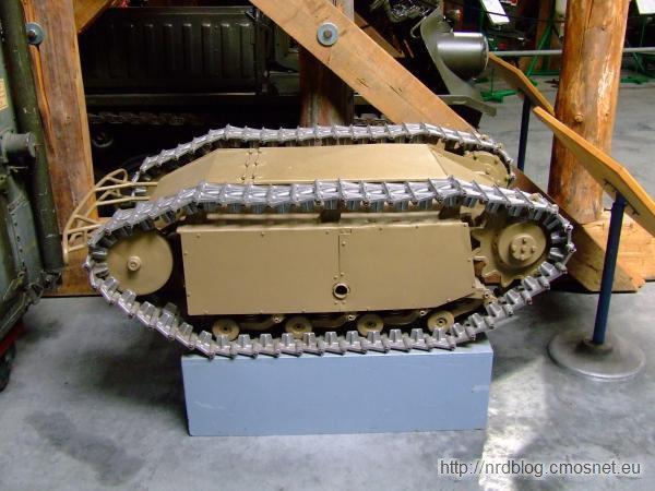Zdalnie sterowany robot do wysadzania umocnień Goliath