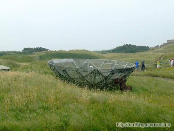 Atlantikwall Museum Oostende - antena radaru Würzburg Riese
