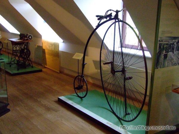 Bicykl firmy Opel, 1886
